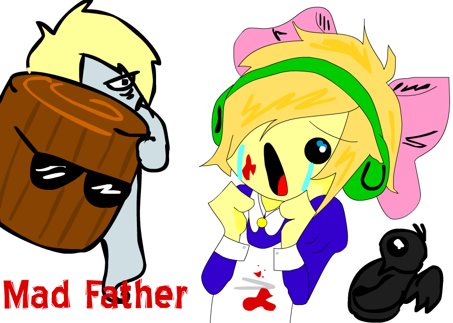 Pewdiepie plays: MAD FATHER by KotomiMaya