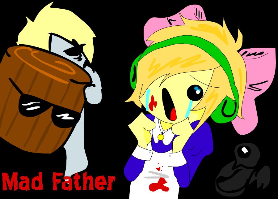 Pewdiepie plays: MAD FATHER by KotomiMaya
