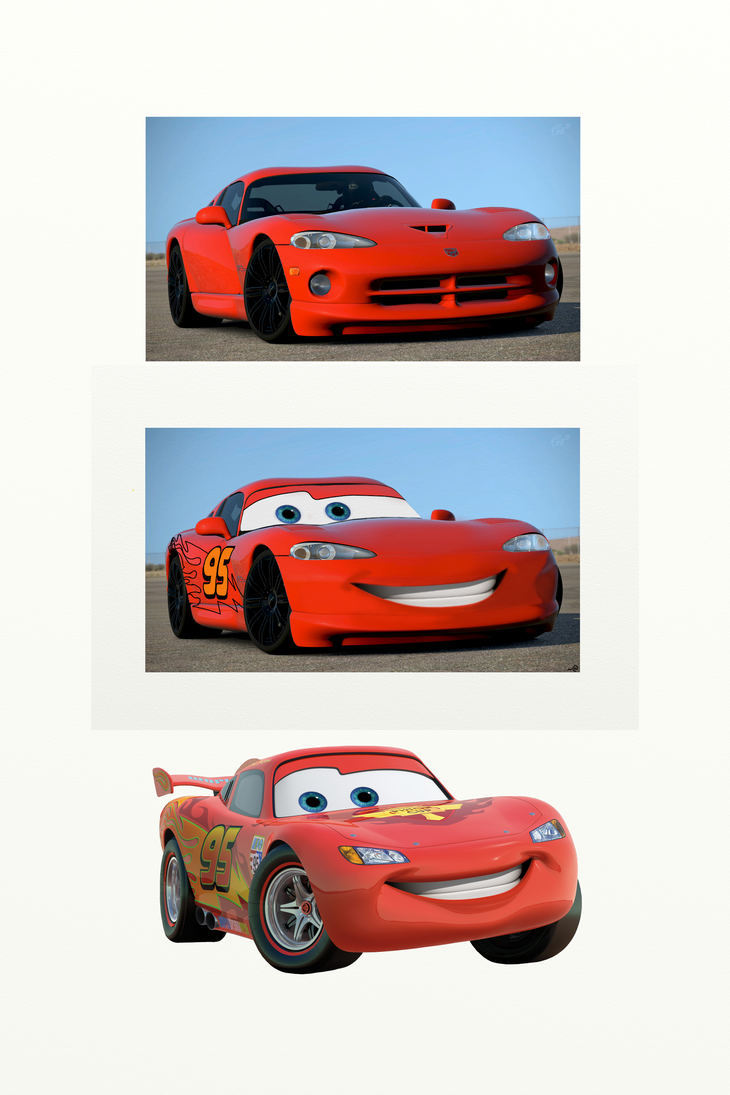 Lightning McQueen is Clearly a Dodge Viper by 3DPhantom ... & Lightning McQueen is Clearly a Dodge Viper by 3DPhantom on DeviantArt