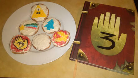 When I Get Bored Mark II - Gravity Falls Cookies by 3DPhantom