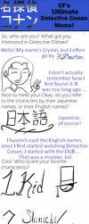 Detective Conan Meme by 3DPhantom
