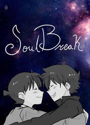SoulBreak - FanFiction Cover Art - ShinKai by 3DPhantom