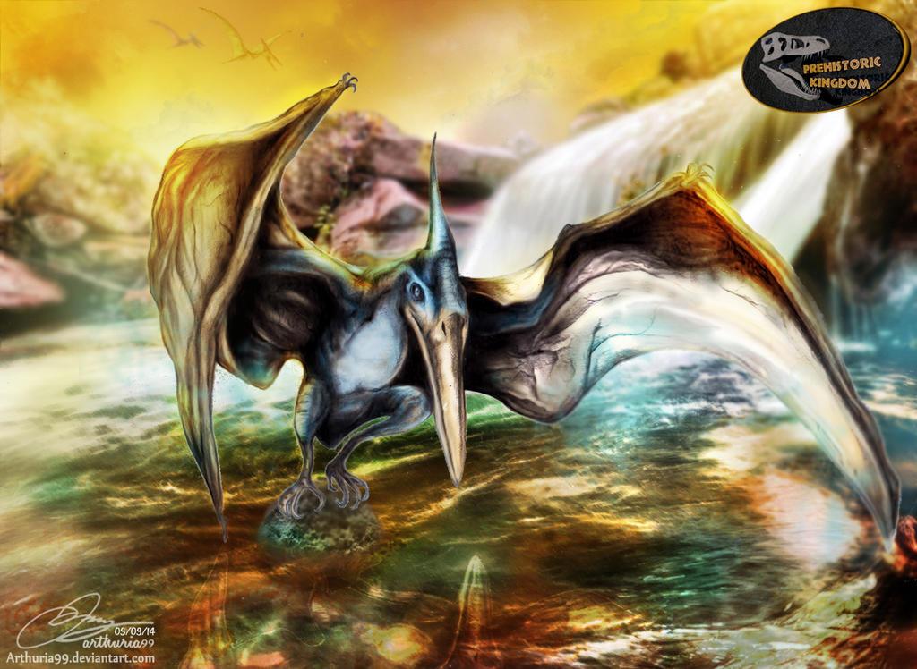 Cretaceous Stream by Arthuria99