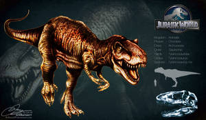 Tyrannosaurus Rex by Arthuria99