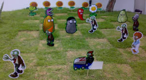Plants VS Zombies on MY LAWN
