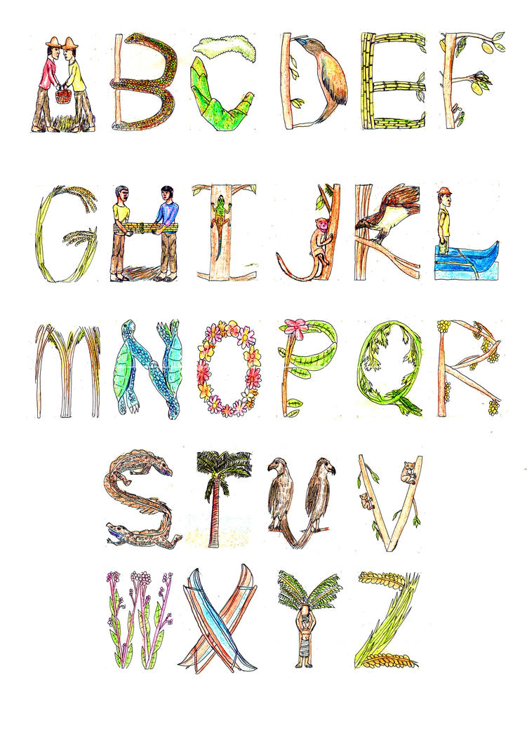 Letras y Figuras by guelpacq on DeviantArt