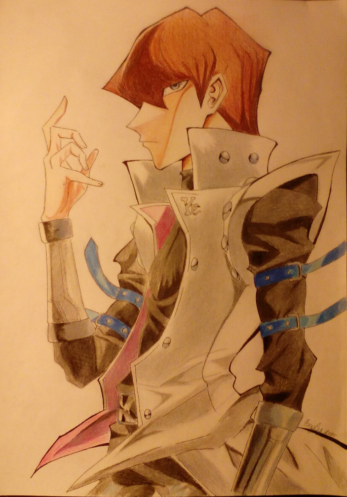 Seto Kaiba + Speed drawing by IXYLY