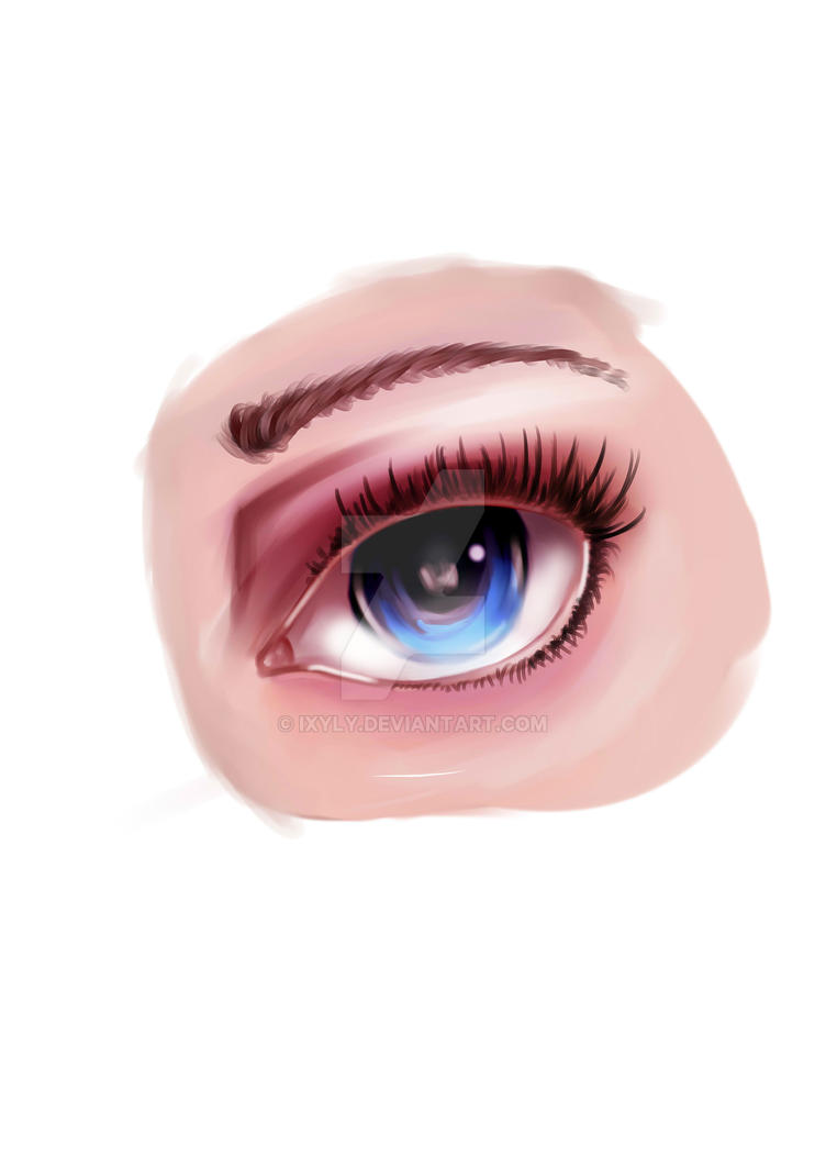 Eye practice by IXYLY
