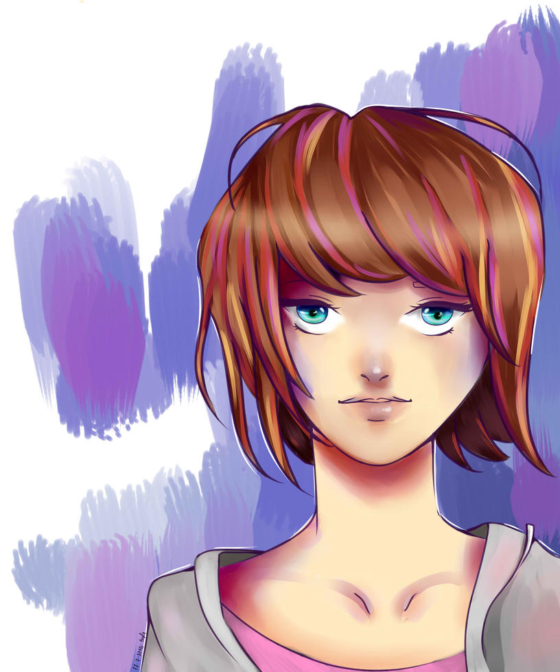 Max Life is strange +SPEEDPAINT by IXYLY