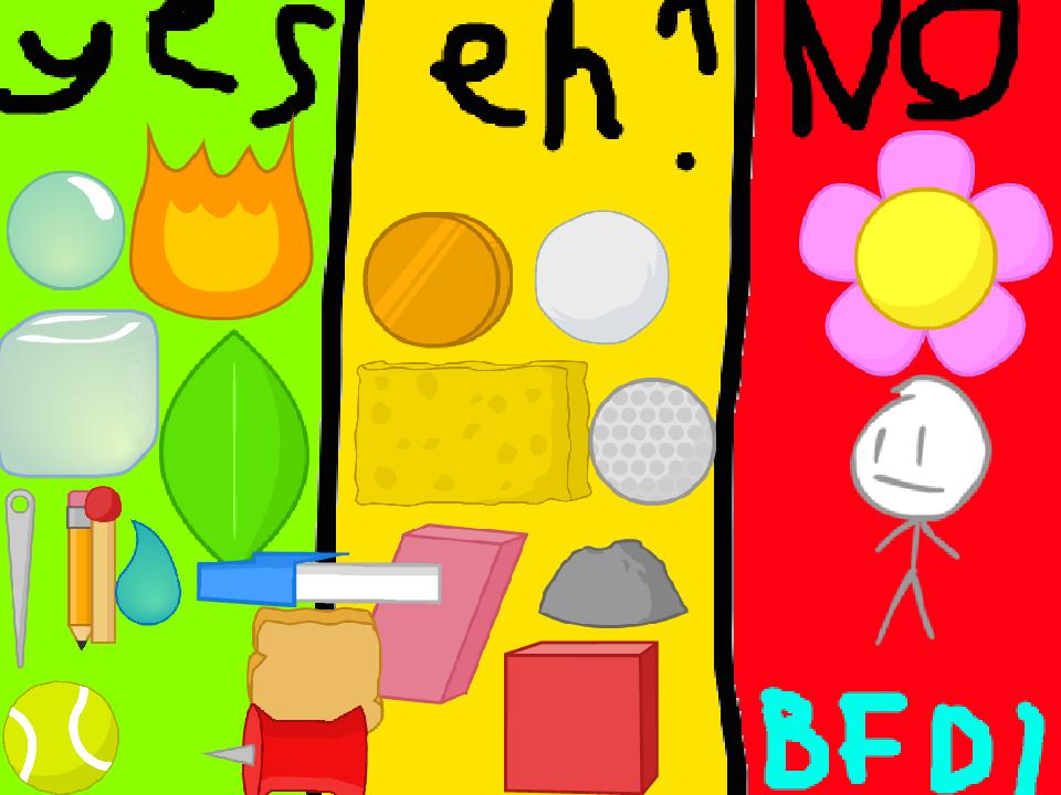 Bfdi Characters Pictures To Pin On Pinterest – Migliori Pagine da