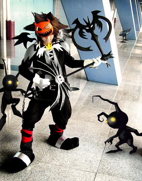 halloween town sora 01 by cvy - Roxas Halloween Town