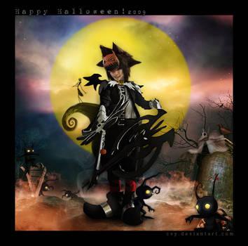 Halloween Town Sora ::05 by Cvy