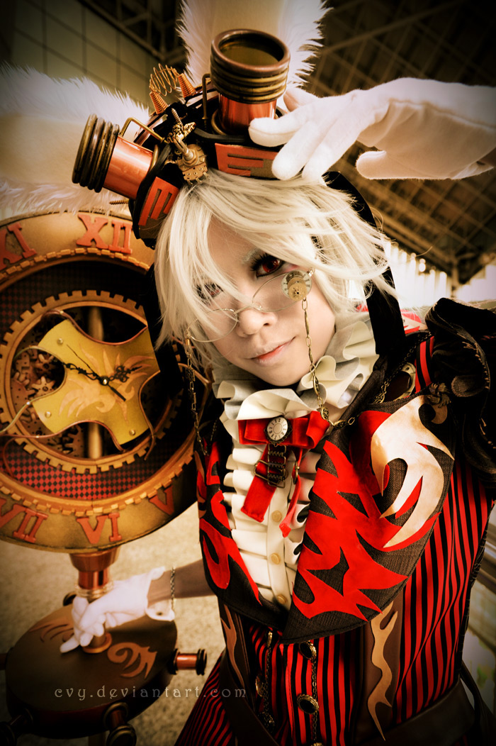 Steampunk White Rabbit ::01 by Cvy on DeviantArt