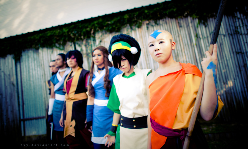 avatar the last airbender 03 by cvy
