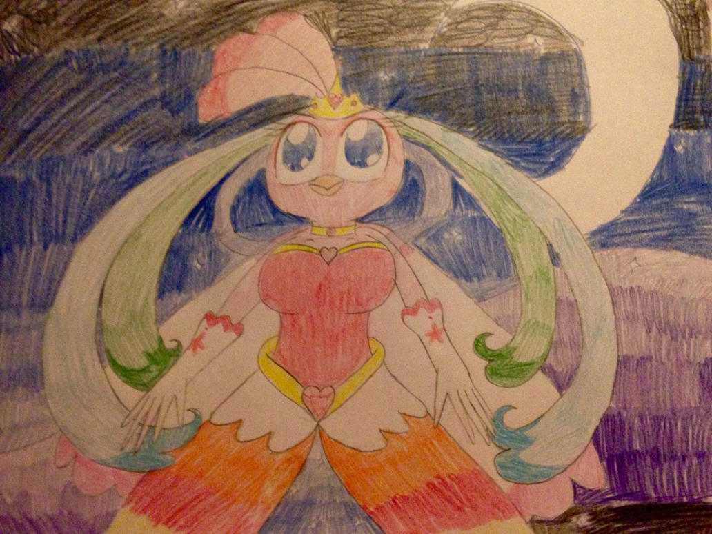 Angry Birds Stella: Pure Heart Princess Stella by RussellMimeLover2009