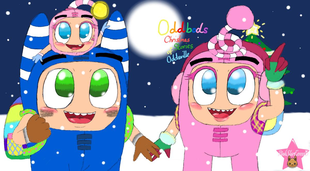Oddbods Christmas Stories Of Oddsville By Pinkstareevee
