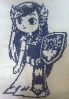 Princess Zelda by camilasilvestre