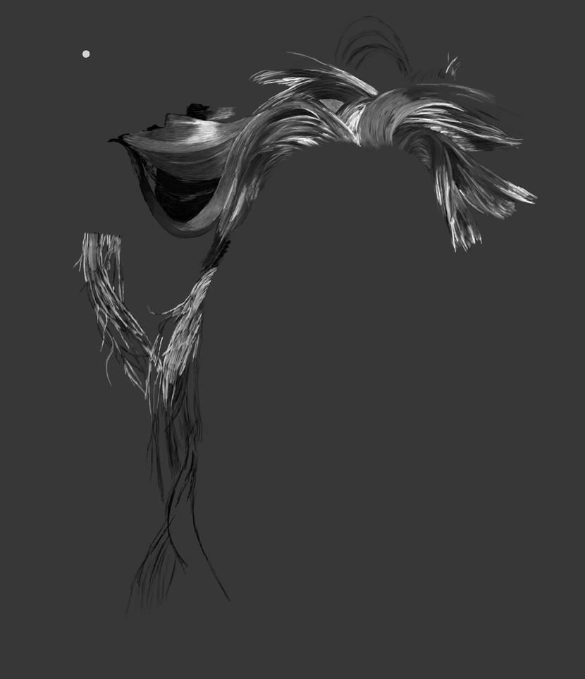 Syndras Profile Progress 001 by DrakoWolff