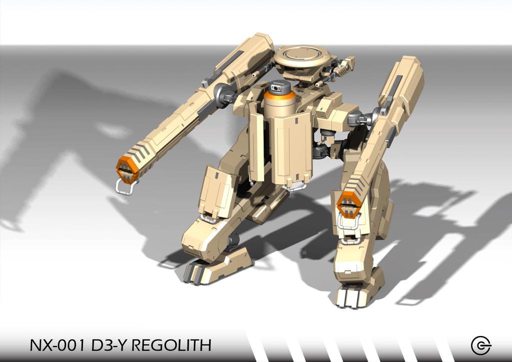 NX-001 D3-Y REGOLITH by Argentix