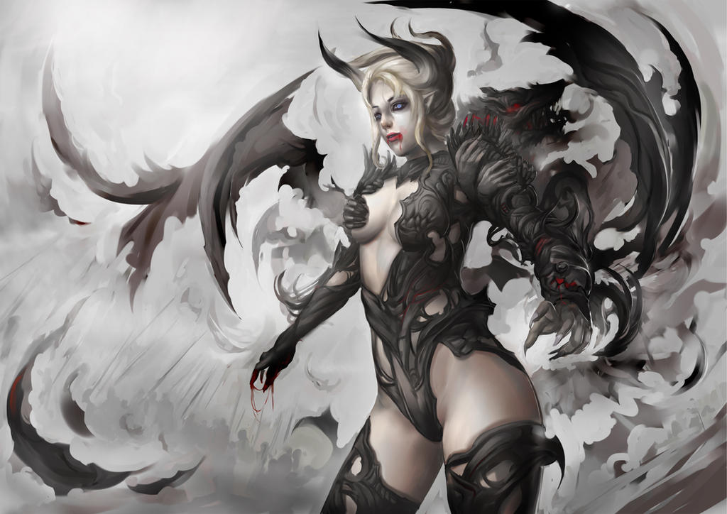 ::vampire by Readman