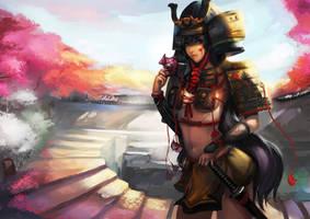 The Last samurai by Readman