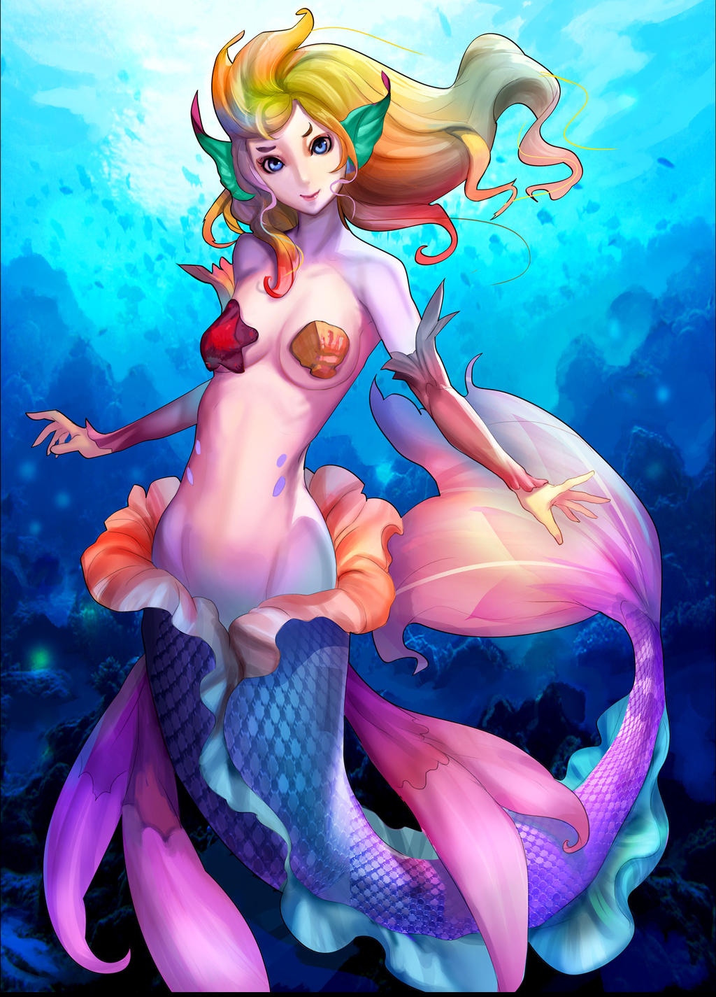 Mermaid by Readman