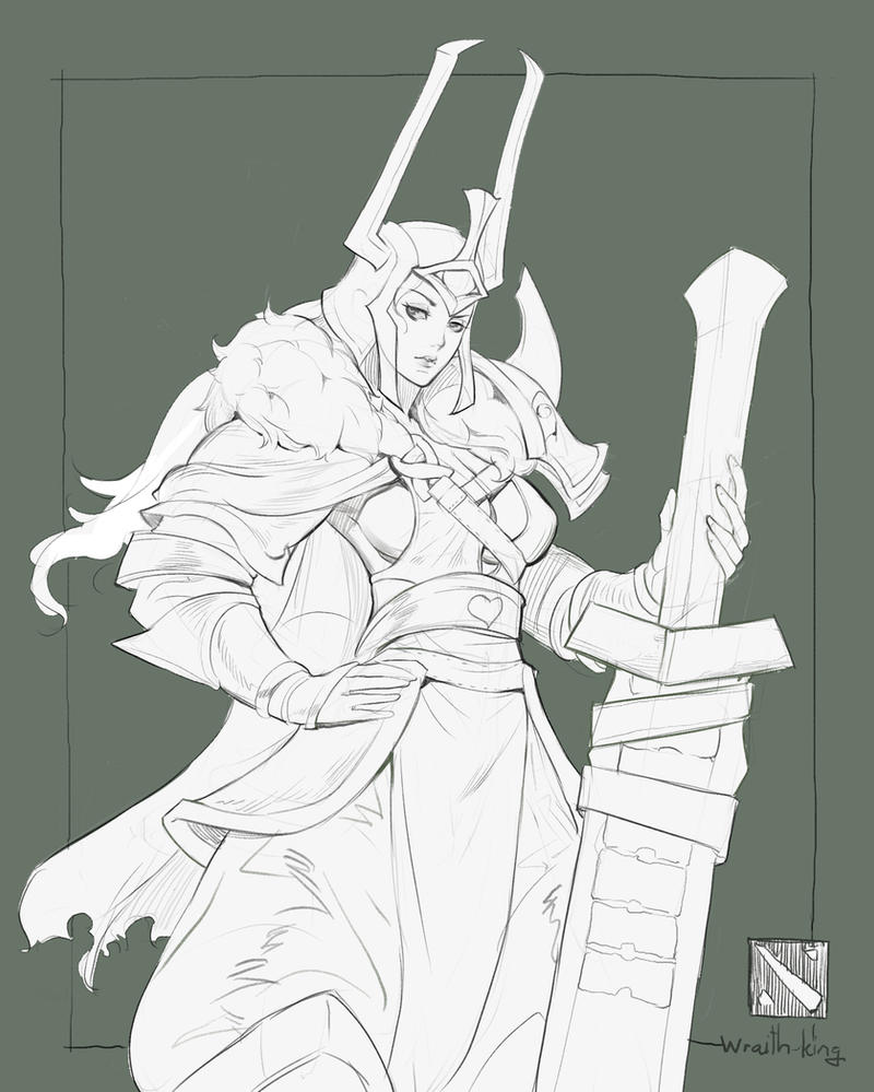 wraith king by Readman