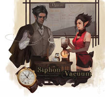 Siphon vacuum