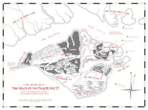 The Isles of Vecta or Wict