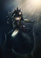 League of Legends Nami by raempire3000