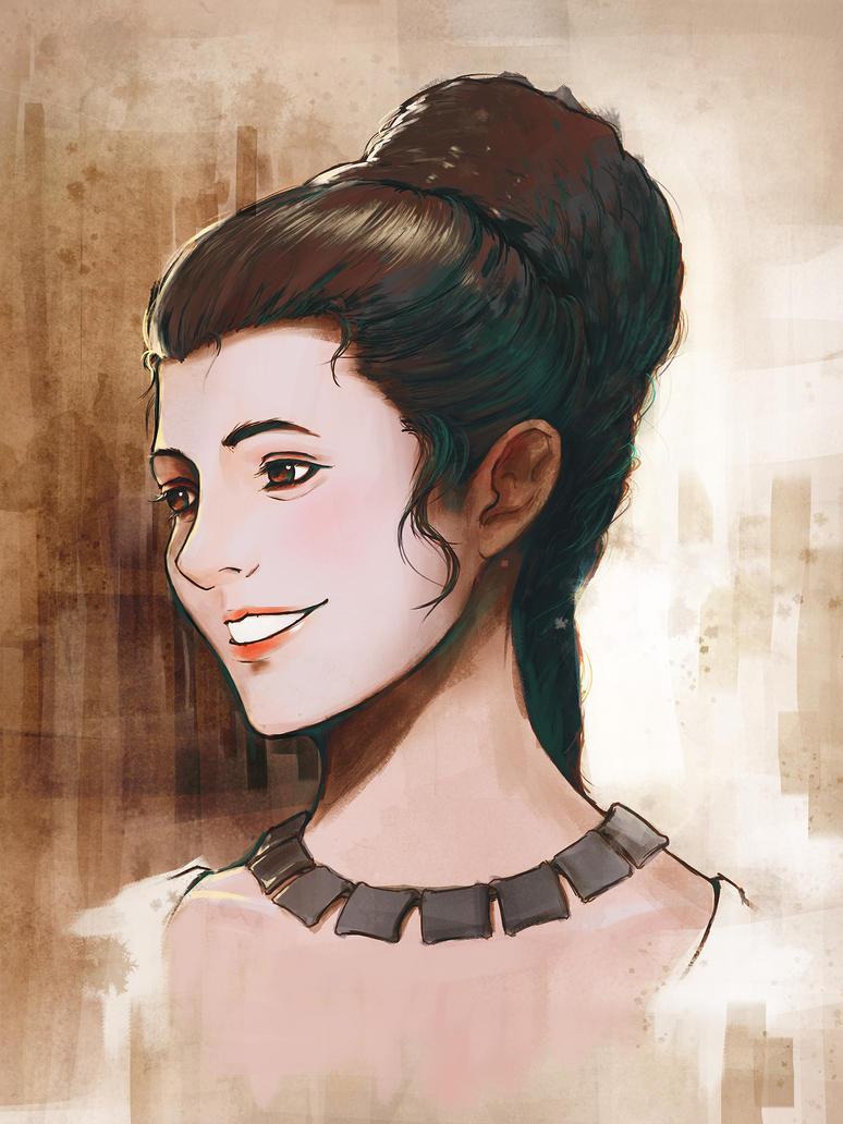 Princess Leia by raempire3000