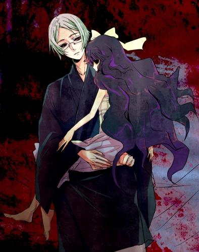 Shiki Sunako And Seishin By KetsuekiTenshi1