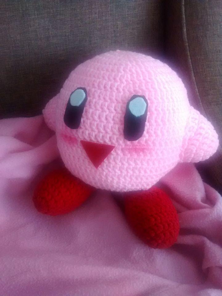 Big Kirby Plush! by PikaInABag