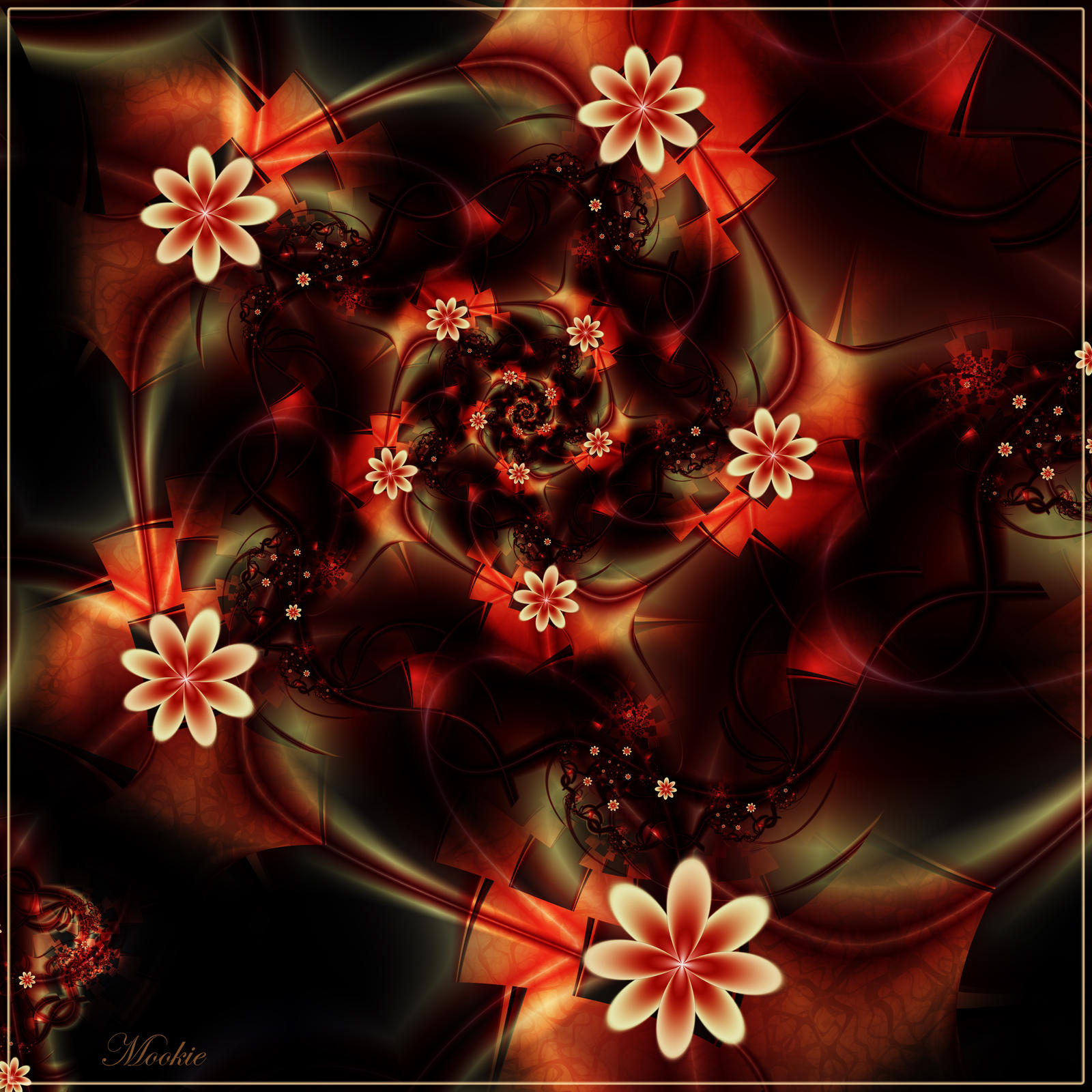 Hot House Flowers by Mookiezoolook on deviantART