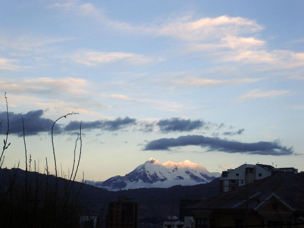 Illimani by divague