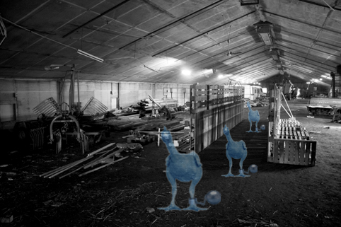 Chicken Necropolis by zyko33