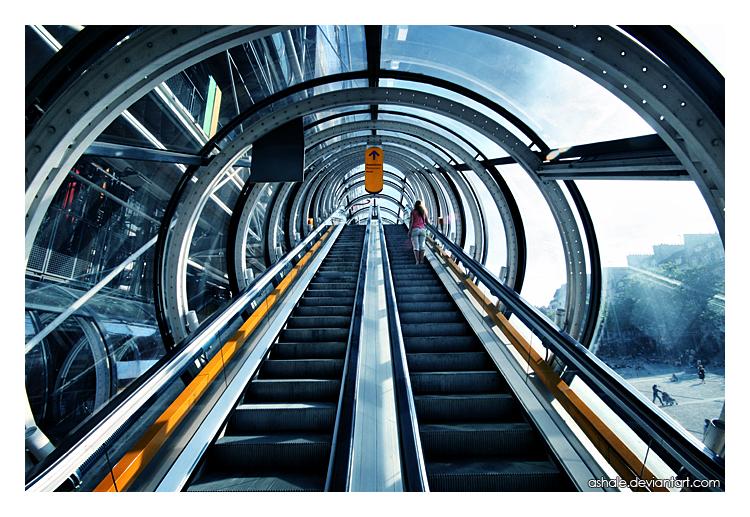 Pompidou by Ashale
