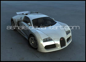 Bugatti_Veyron by Ashale