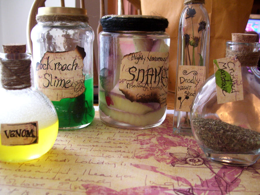 Potter Potions by lil-utena