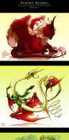 FR: Dragon Character Portraits I
