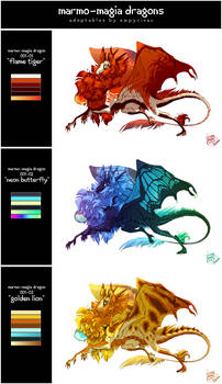 ADOPT: Marmo-Magia Dragons I (SOLD)