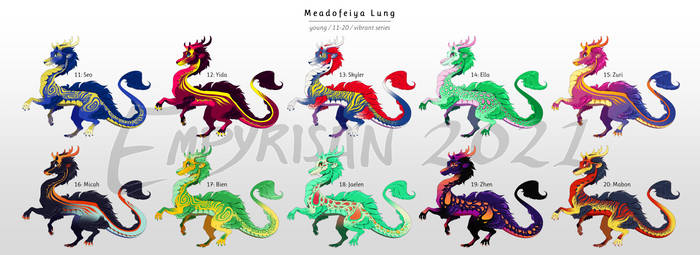 001: Meadofeiya Lung -  Vibrant (OPEN)