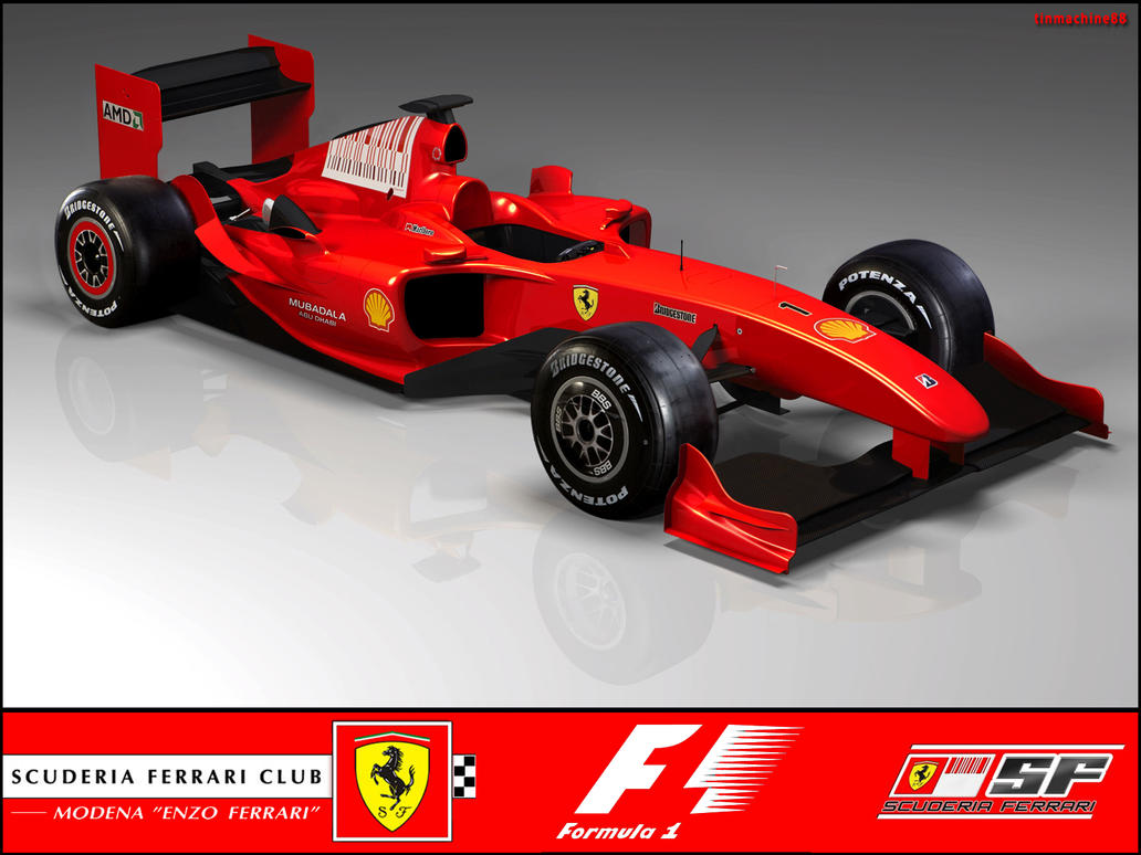 F1 Scuderia Ferrari 2010 by Tinmachine88 on DeviantArt