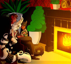By the Fire .:Pix Comm:.