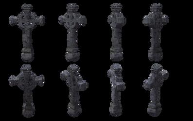 Cross Set 02 by Free-Stock-By-Wayne