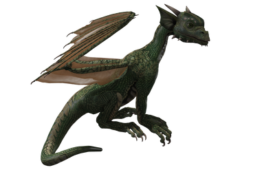 Millennium Hatchling Dragon 01 by Free-Stock-By-Wayne