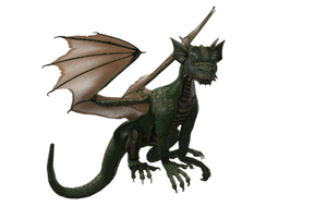 Millennium Hatchling Dragon 02 by Free-Stock-By-Wayne
