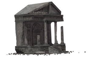 Building - Temple Of Megaera Ruins 02 by Free-Stock-By-Wayne