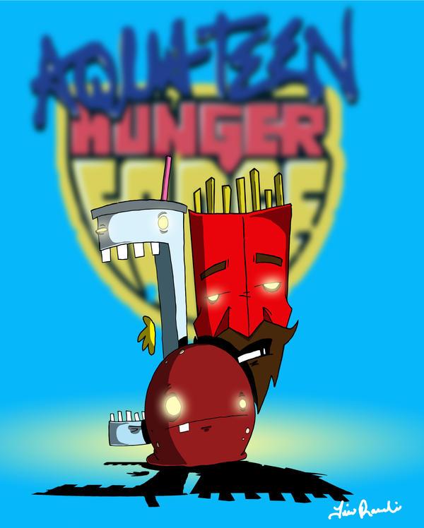 For Free Aqua Teen Hunger 84