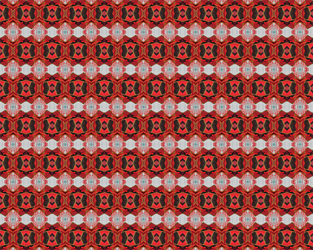 Tiled Red Metal Lava by lalenaw